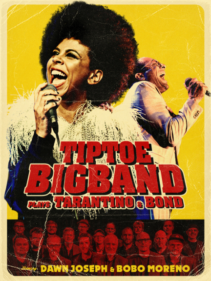 TipToe Bigband plays Tarantino & Bond